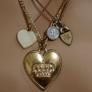 """""""Rare"""" Vintage Juicy Couture Layered Necklace"""
